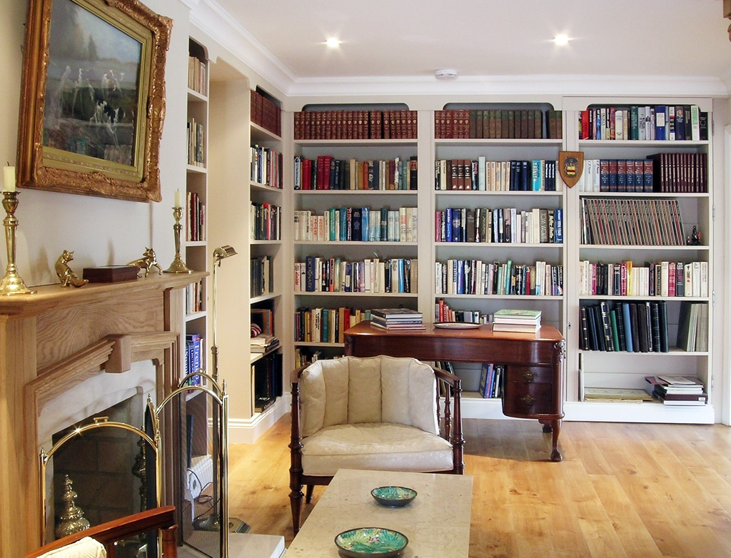 Fitted Book Cases