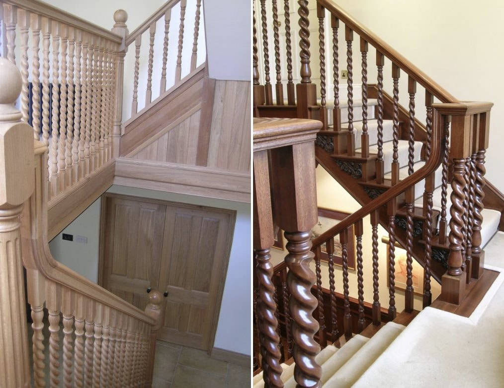 Country Home Staircases